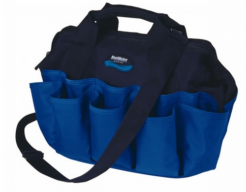 Widemouth Tool Tote - Black/Blue