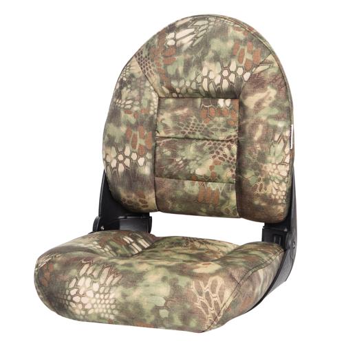 NaviStyle™ High-Back Camo Boat Seat - Kryptek Mandrake - Cordura
