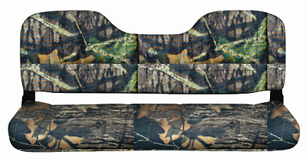 "48"" Folding Bench Seat Camo - Mossy Oak Break-Up - Cordura"