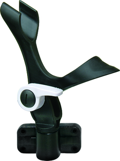 Fish-On!® Light Tackle Rod Holder with Side Mount - Black