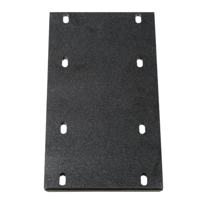 Helm Seat Reinforcement Mounting Plate - Black