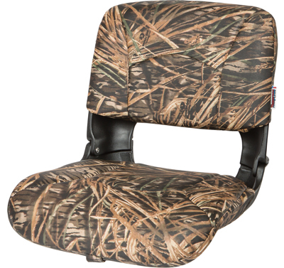 All-Weather™ High-Back Boat Seat Camo - Mossy Oak Shadowgrass Vinyl