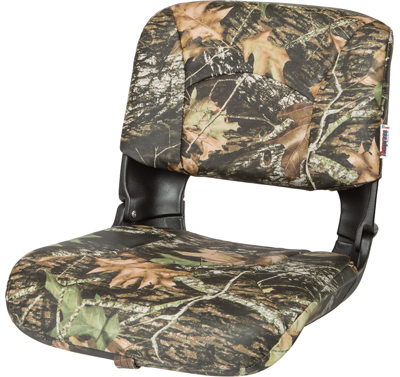 All-Weather™ High-Back Boat Seat Camo - Mossy Oak Break Up Vinyl