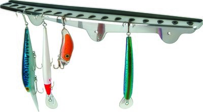 Fish-On! Stainless Steel Folding Hook Rack