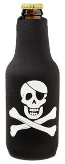 Bottle Buddy - Black - Pirate - Single Pack