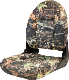 NaviStyle™ High-Back Camo Boat Seat - Mossy Oak Break-Up - Vinyl
