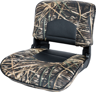 Profile™ Guide Series Boat Seat & Cushion Combo - Mossy Oak Shadowgrass / Black Perf