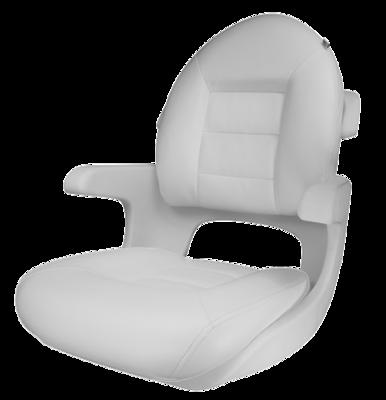 TEMPRESS Elite Helm Seat Bottom Cushion ONLY - White