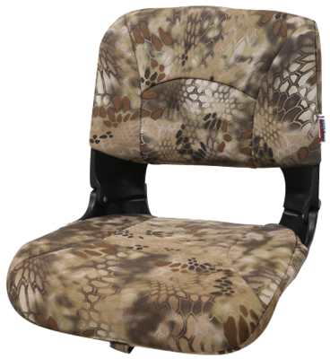 All-Weather High-Back Boat Seat Camo - Kryptek Highlander