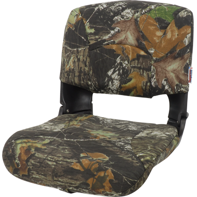 All-Weather™ High-Back Boat Seat Camo - Mossy Oak Break-Up - Cordura