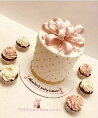 Wrapped Gift Cake