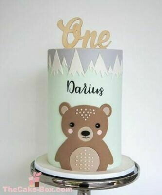 Teddy Toddler Themed Cake