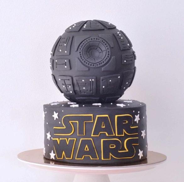 Star Wars Themed Cake
