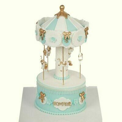 Theme Park Boys Birthday Cake