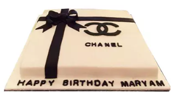 Channel Box Cake
