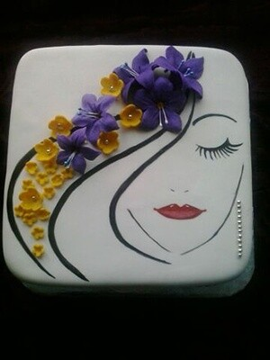 Chic Minimalist Cake