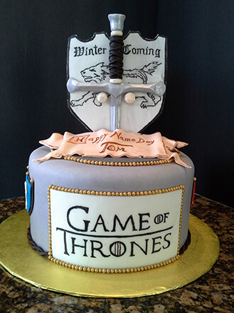 Coat of Arms House Stark Cake