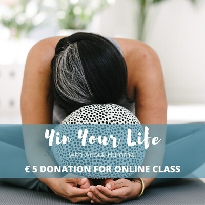 Donation for Online Yin Yoga Class with Anouk