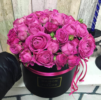 Коробка роз Эксклюзив Бомбастик