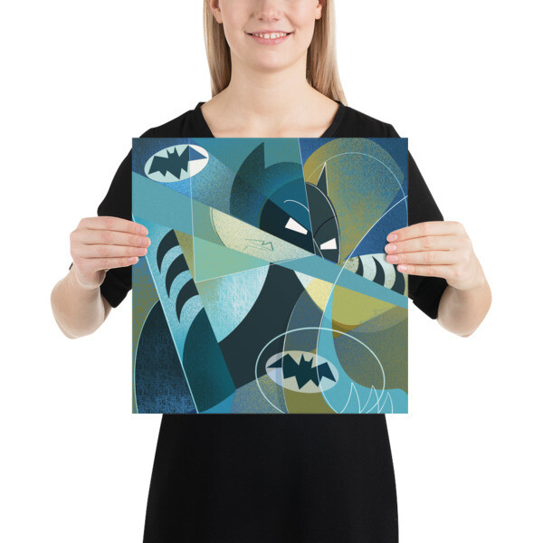 Picasso Bat, Poster Print