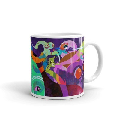 Guardians Mug. Add some color to your coffee universe!