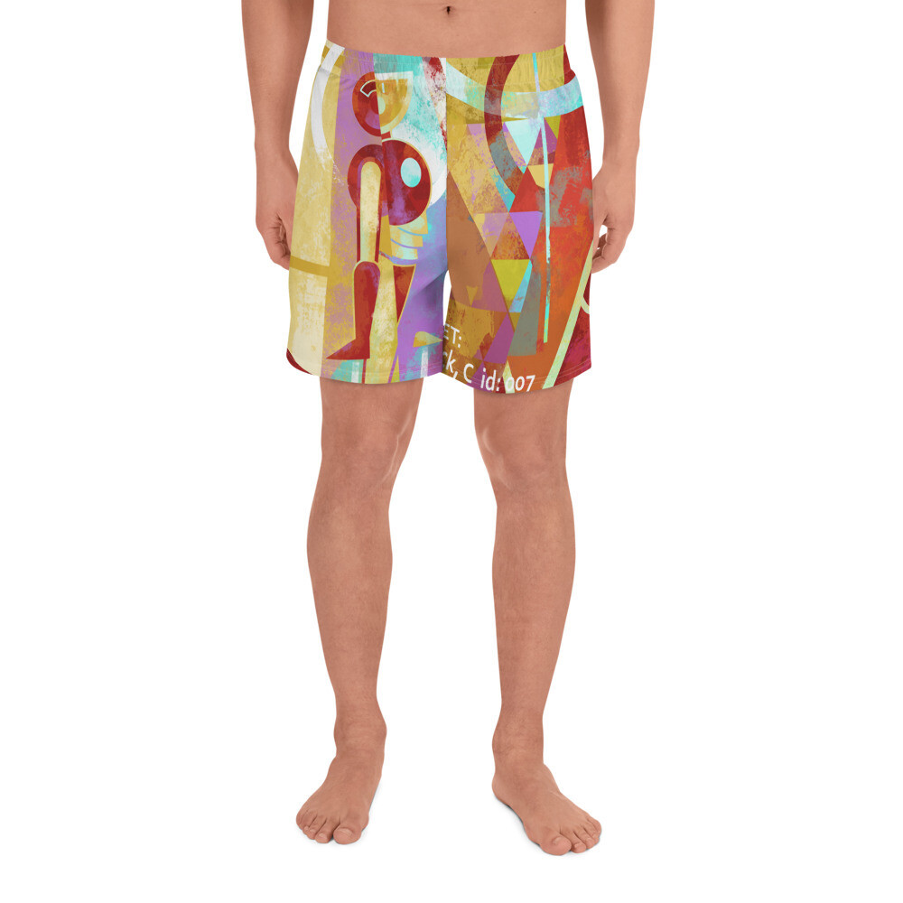 On Target, Men's Athletic Long Shorts