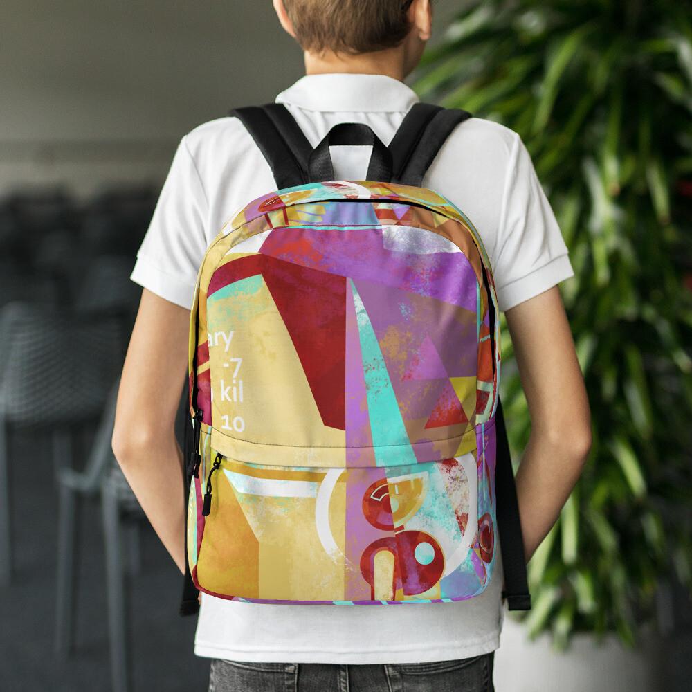 On Target, full color Backpack
