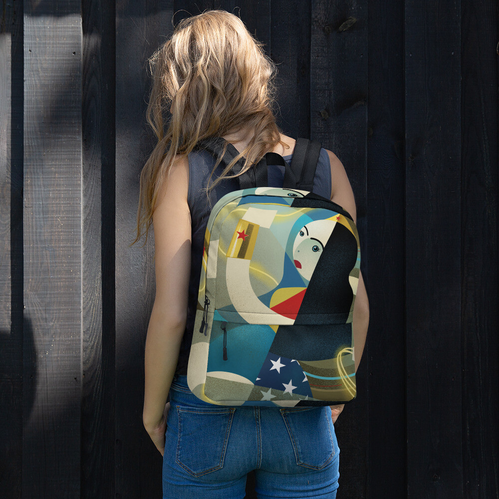 Diana, full color backpack