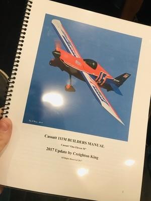 2017 Cassutt Builders Manual