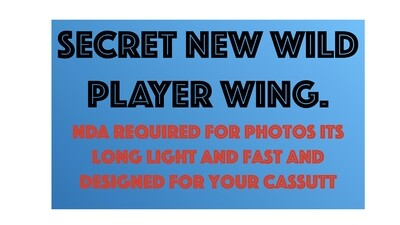 Wild Player Epic Race Wing Wing Closed UP (Deposit only)