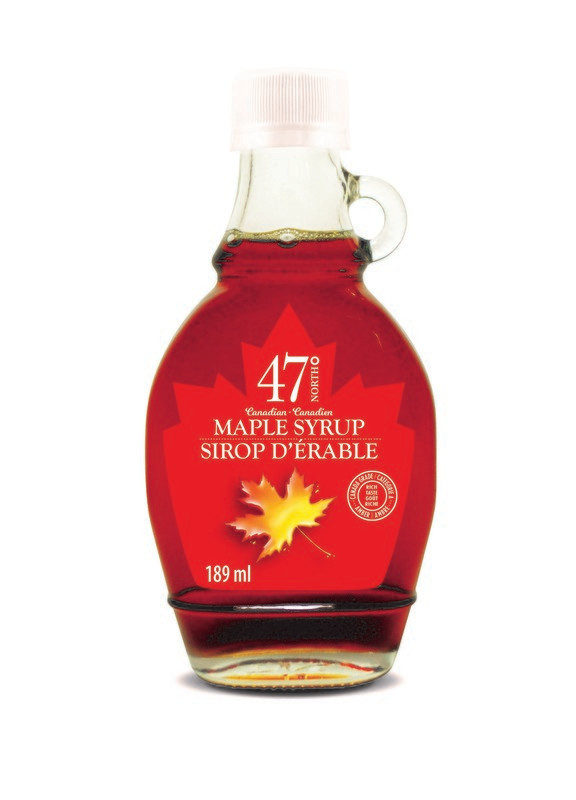 189ml Organic Maple Syrup Traditional Glass Bottle