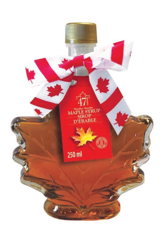 250ml Organic Maple Syrup Maple Leaf