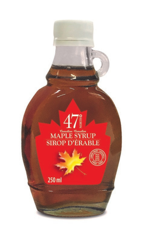 250ml Organic Maple Syrup Traditional Glass Bottle