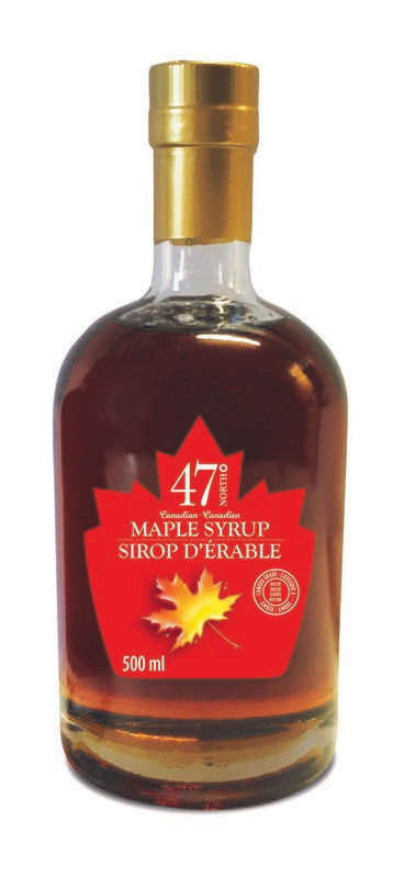 500ml Organic Maple Syrup Leo Bottle