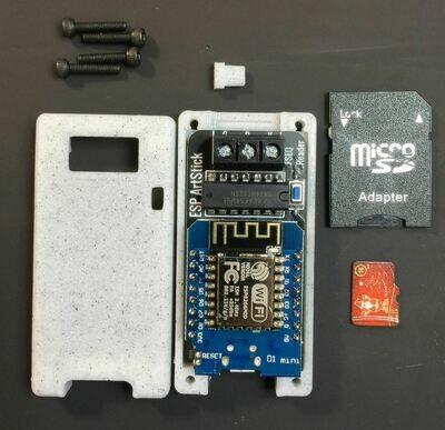 5v Micro USB powered SD-Card/WiFi Costume Edition