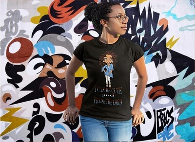 I Can Be Cute and Praise The Lord Short-Sleeve T-Shirt