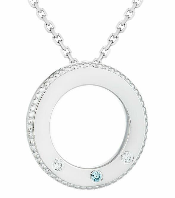 CC Famiglia©—Silver/Blue Diamond