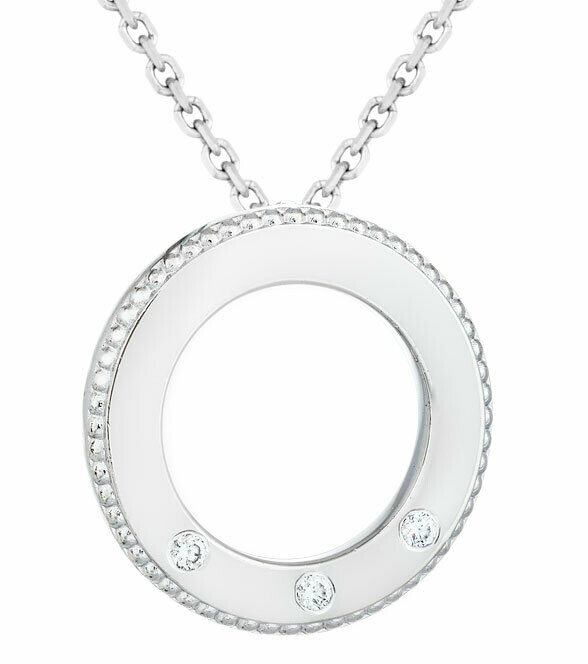 CC Famiglia©—Silver/Three Diamonds