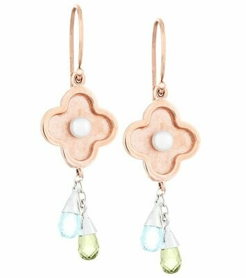 Capri—Rose Gold with Peridot