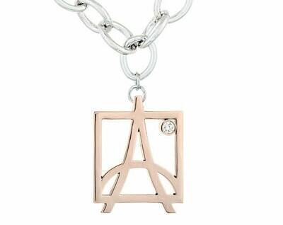 Skyline Bracelet—Rose Gold/Diamond