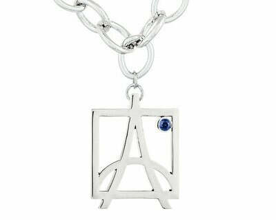 Skyline Bracelet—White Gold/Sapphire