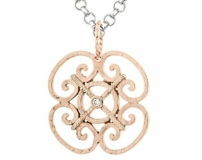 Porte d'Italia—Rose Gold/Diamond-Small