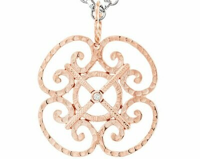 CC Porte d'Italia©—14k Rose/Diamond-Large Version