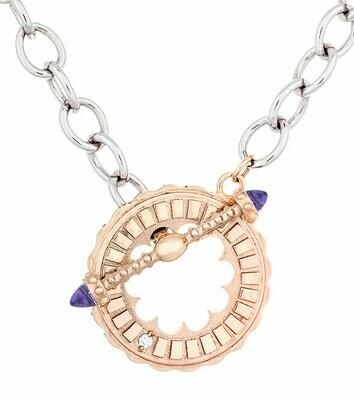 CC Sacré-Coeur©—Rose Gold & Amethyst Bracelet/Necklace