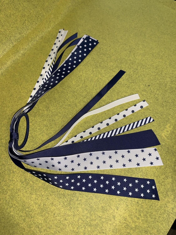 Team Spirit Streamer Hair Tie