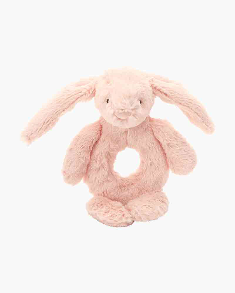 Pink Bunny Rattle