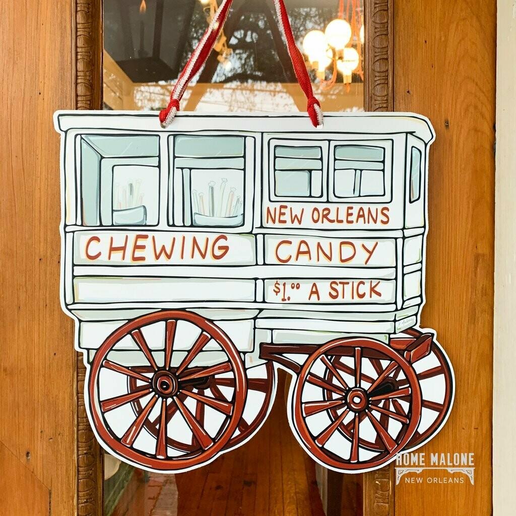 Home Malone Roman Candy Cart Door Hanger