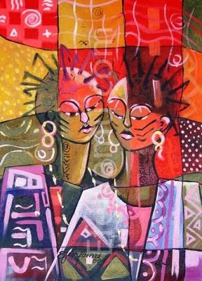 The Ibadan Twin- Print- 24