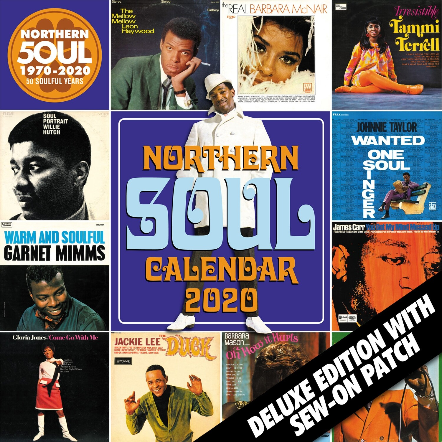 Northern Soul Calendar 2020 - Deluxe Edition / SOLD OUT