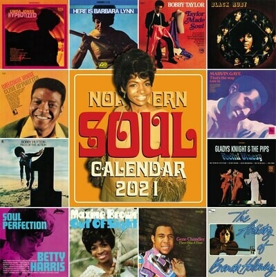 Northern Soul Calendar 2021 - EARLY BIRD OFFER
